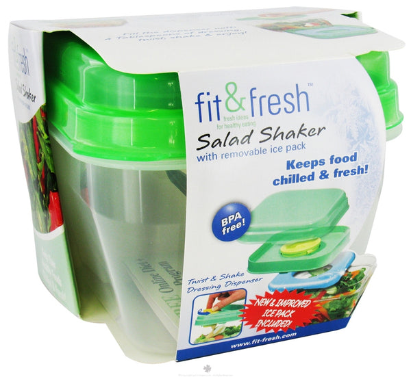 Fit and fresh salad shaker - Salads can grow pots eat fresh ...