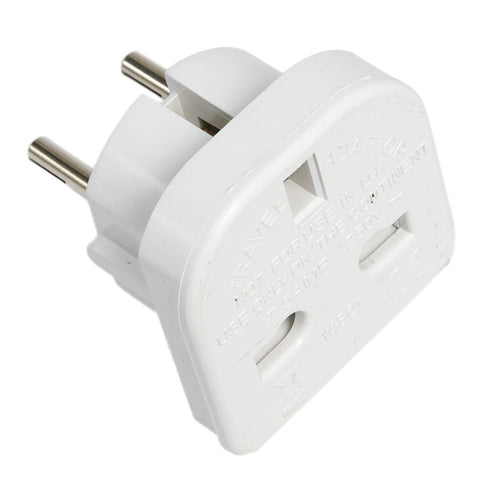 UK to EU Plug Adapter