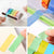 2pcs/lot Washi Tape Dispenser Cutter Desktop Roll Tape Holder Organizer Masking Tape Roll Storage Organizer Cutter Stationery