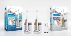 RST2032 - CrystalSonic Platinum UltraSonic Toothbrush with UV Sanitizing Charging Base