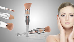 3 in 1 Travel Makeup Brush
