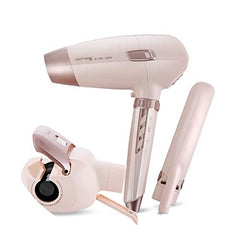 3in1 Automatic curler Hair dryer Straight iron hair Straightener constant temperature 25mm Hair styling tools,220V-240v