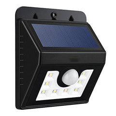 Outdoor Motion Activated LED Lights | Water Resistant & Solar Powered