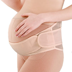 PREG-STP - Maternity Belt Pregnancy Support Stretchable Belly Band Abdominal Binder