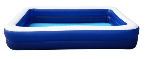 8 Person Family Paddling Pool-Blue