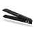 GWB485 - Hair Straightener and Curler 2 in 1 USB Charge Portable Flat Iron Digital LCD Display for All Hair Types for All Hair Types,Black