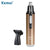 Modern Design Nose and Ear Hair Electric Beard Trimmer 2 in 1 for Men and Women KM-6629