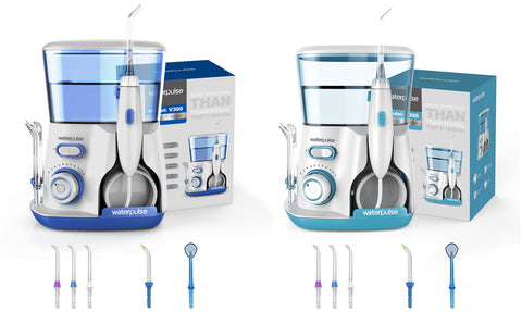 Waterpulse V300G Oral Irrigator 5pcs Tips Dental Water Flosser