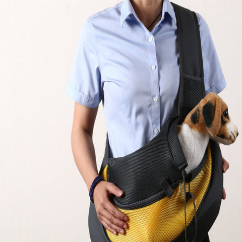 PB94006 - Sling Pet Carrier, Travel Tote Shoulder Sling Bag for Dogs Cats