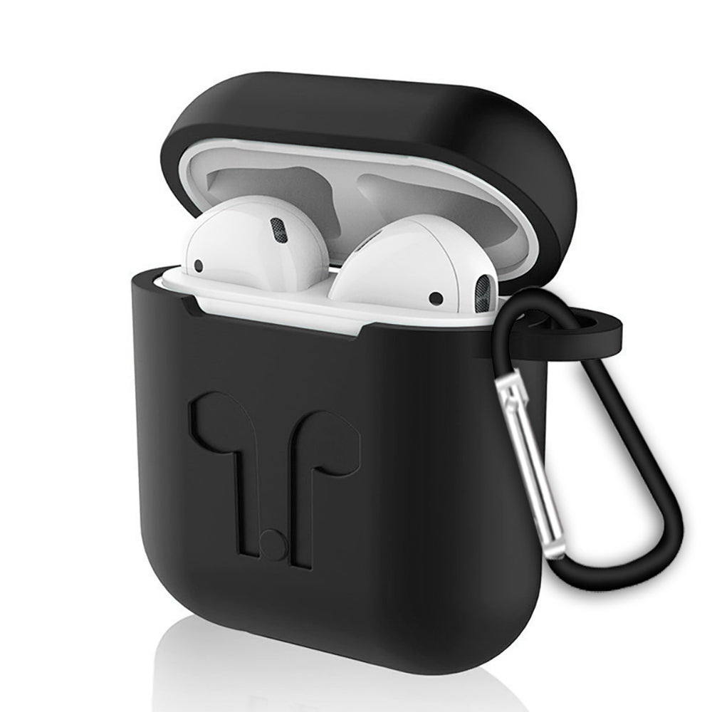 d79196258bf Soft Silicone Case For Apple Airpods Air Pods Earphone Protective Cover  Shockproof Waterproof for iphone 7 8 Headset Accessorie