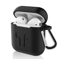 Soft Silicone Case For Apple Airpods Air Pods Earphone Protective Cover Shockproof Waterproof for iphone 7 8 Headset Accessorie