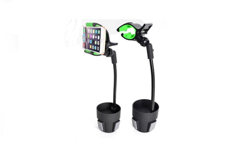 Adjustable Car Cup Holder Mount-Black