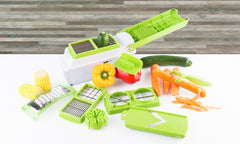 11 in 1 Fruit Vegetables Mandoline Cutter Slicer Grater Crusher Chopper Dicer