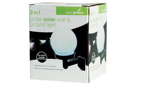 2in1 Globe Solar Light