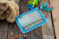 Children's Interactive Learning Pad-Blue