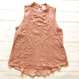 Rose Sleeveless Top