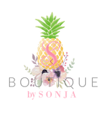boutique by sonja logo, boutique clothing, boho, western