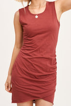 Load image into Gallery viewer, Ebrill Dress in Marsala