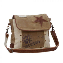 Load image into Gallery viewer, Leather Star Shoulder Bag