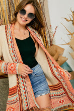 Load image into Gallery viewer, Aztec Cardi Neutral