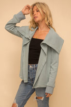 Load image into Gallery viewer, Mint Fleece Lined Jacket