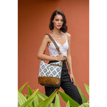 Load image into Gallery viewer, Blue Sapphire Shoulder Bag