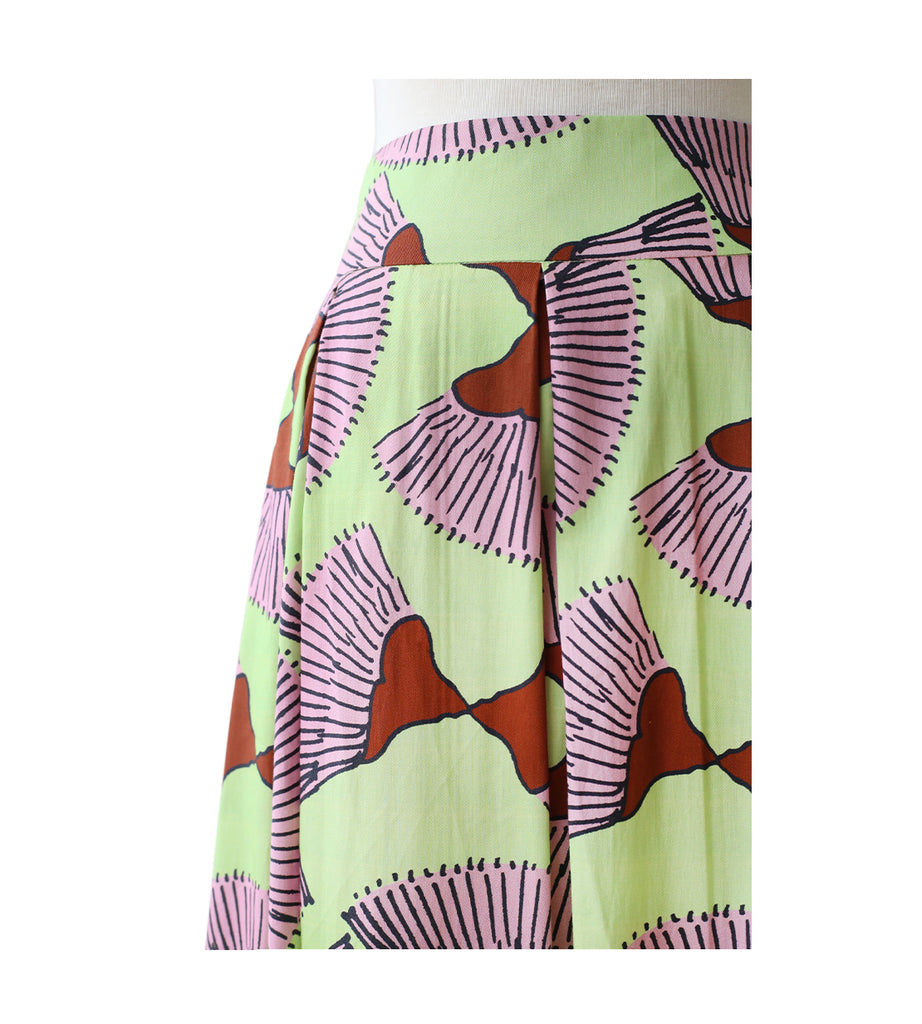 50's Skirt - Flame Of The Forest