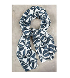 Scarf - Broche Blush Blue