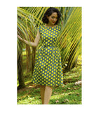 Ladies Dress - Buds Yellow
