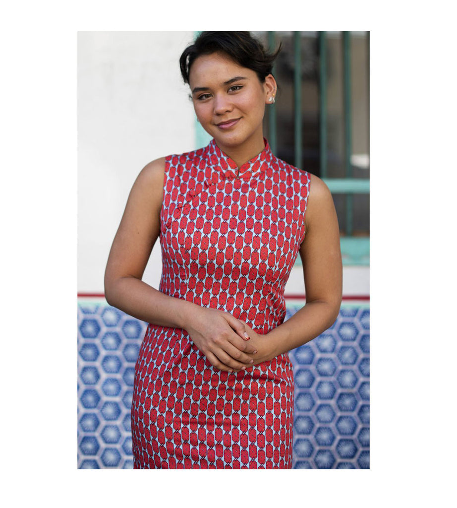 Slim Fit Cheongsam - Lampu