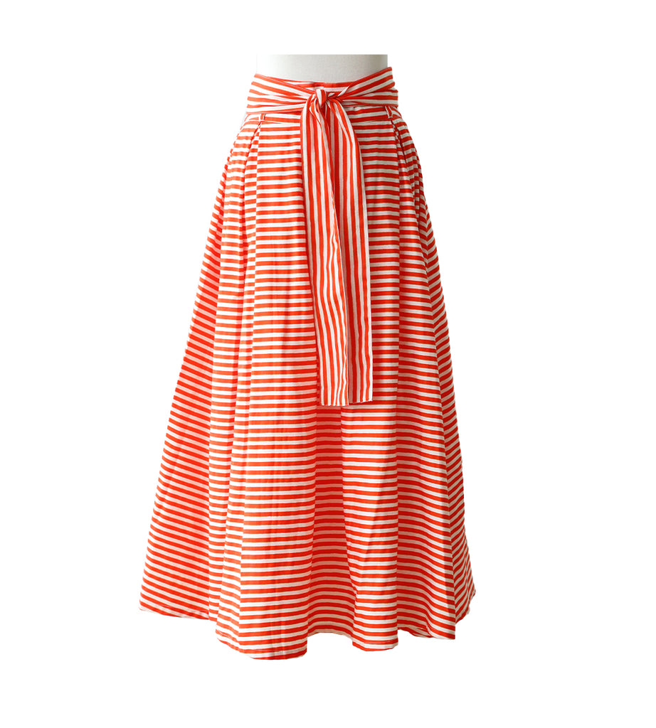 50's Skirt - ST Tropez Orange