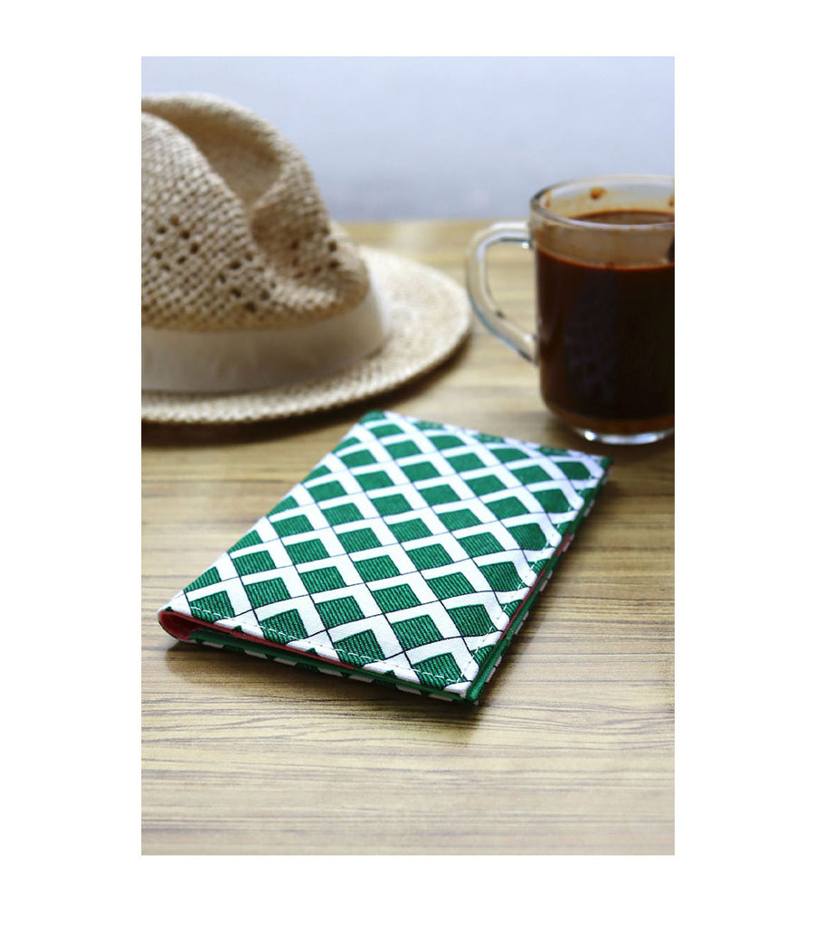 Passport Cover - Willow Lace Green