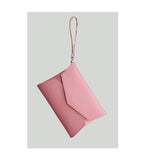 Daitan Clutch with Handle - Ethereal Pink & Breadfruit