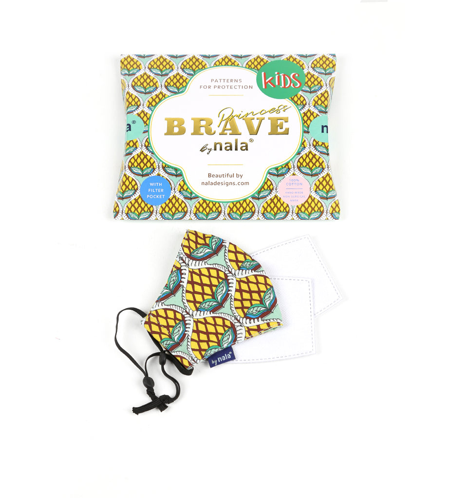 Brave Princess Kids Mask Nanas