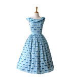 Brussels Dress - Empress Blue