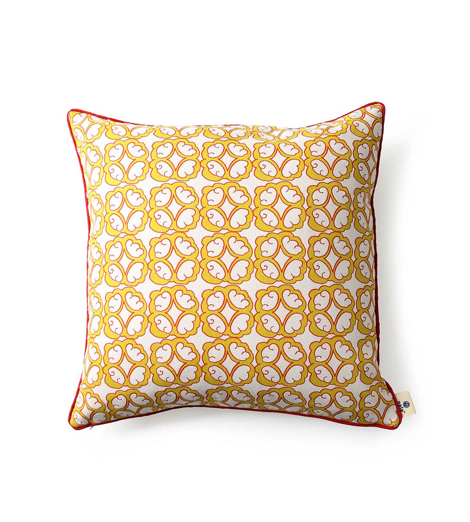 Cushion Cover - Jade Flower