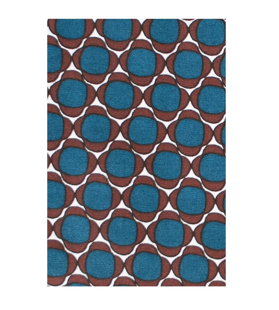 Tea Towel - Buds Blue