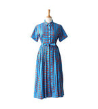 Fleur Shirt Dress - Oriental Blue