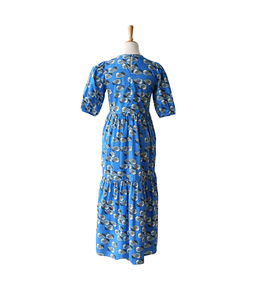 Jaslena Dress - The Nest Blue