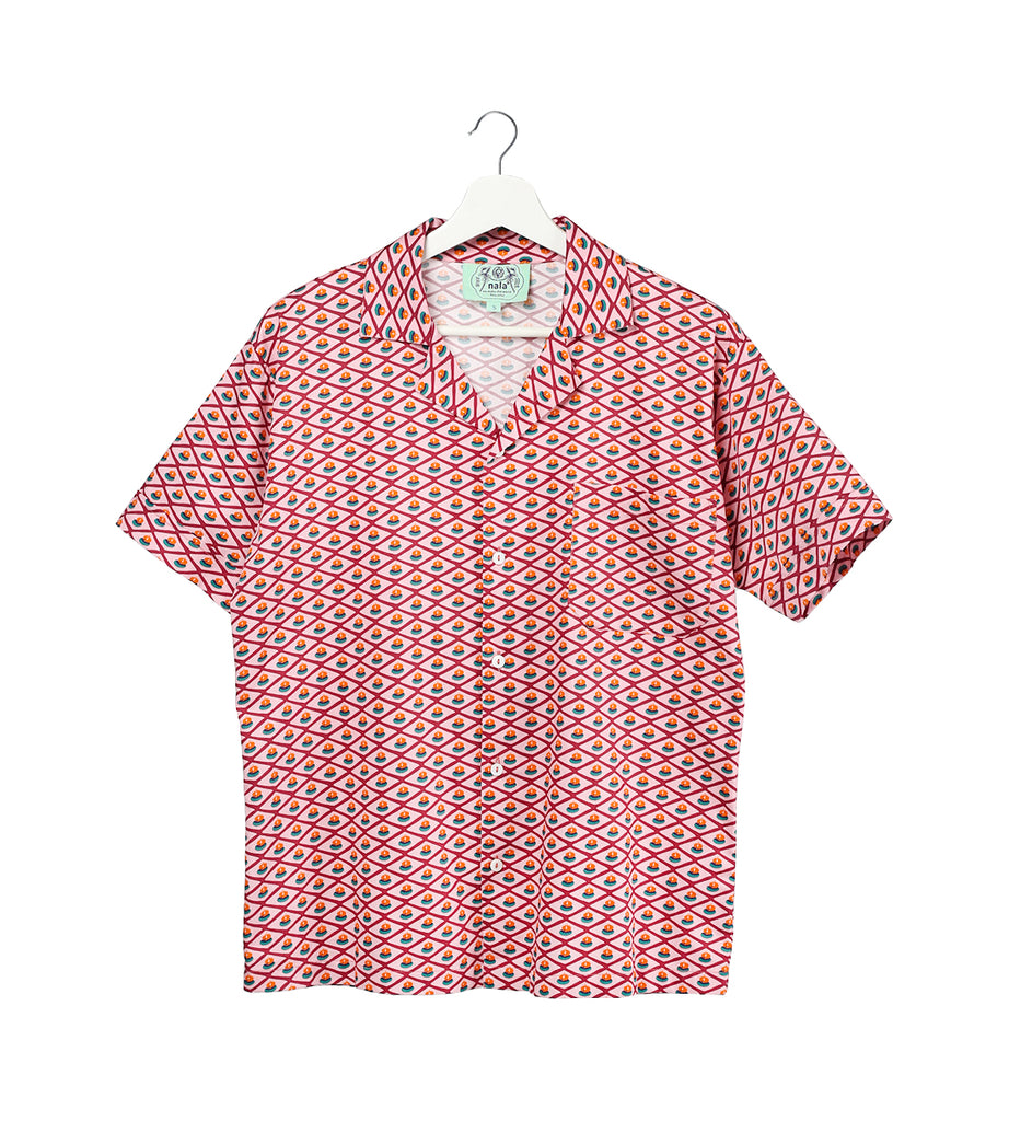Men's Shirt - Gem Biscuit Pink