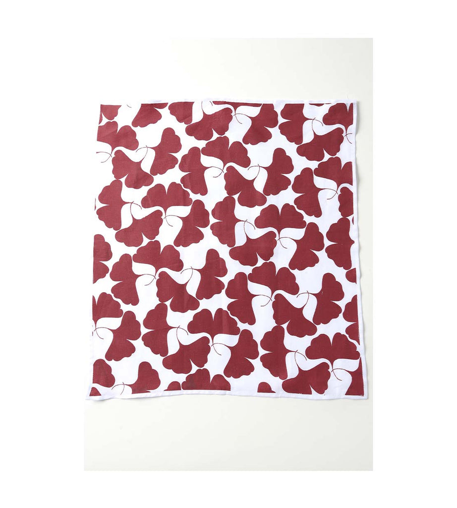 Napkin - Gingko Burgundy