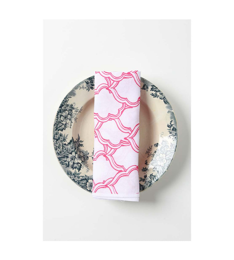 Napkin - Pretty in Peranakan Pink
