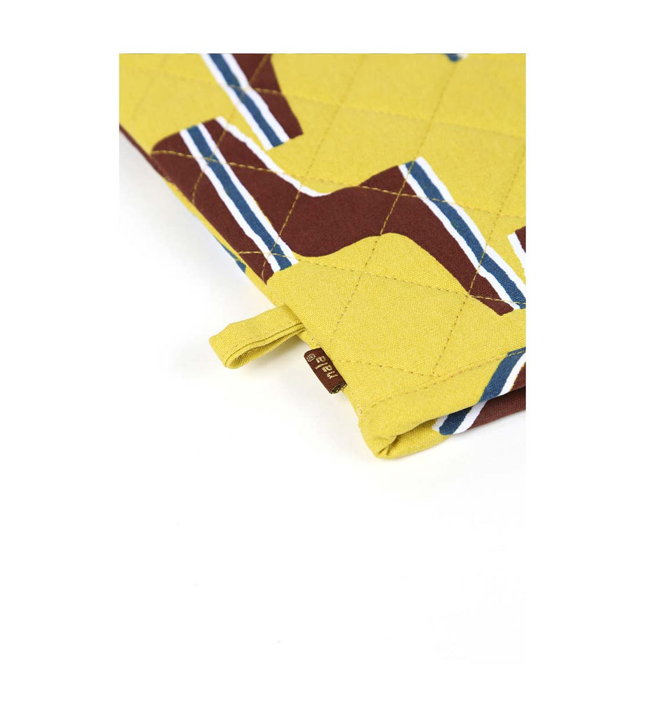 Oven Glove - My Parlimen Yellow