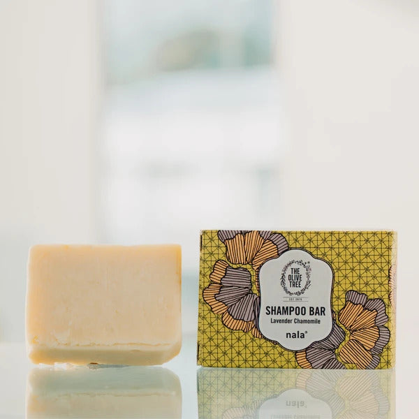 The Olive Tree Collab Lavender Chamomile Shampoo Bar
