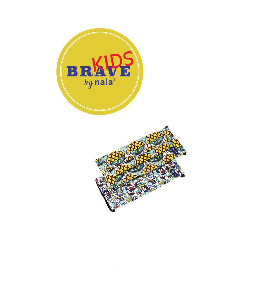 BRAVE Kids KAMPUNG CALM - Freedom & Nanas Kayu - Set Of 2 (Size: Kids)