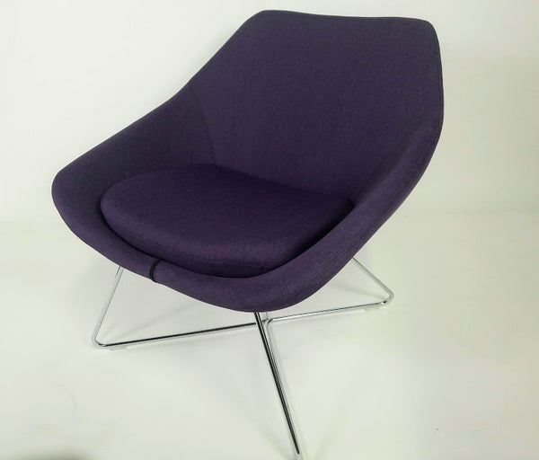 Allermuir Open Chair A642 (purple)