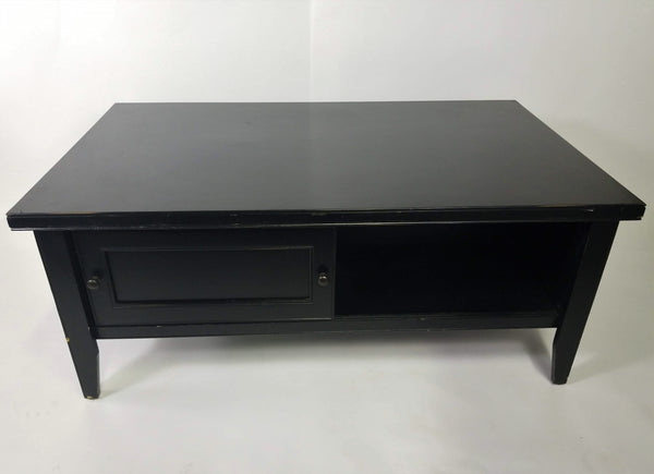 Black Painted Coffee Table