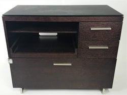 BDI TV stand - brown laminate High Performance Furniture