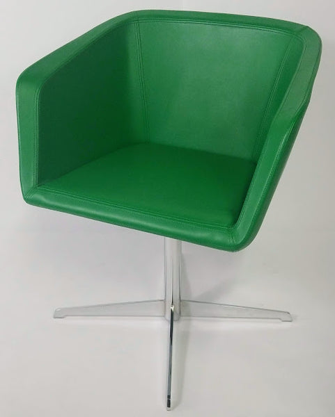 Gordon International Silhouette Swivel Chair (emerald)