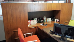 Halcon Mitre Office Suite with Three Occasional Tables